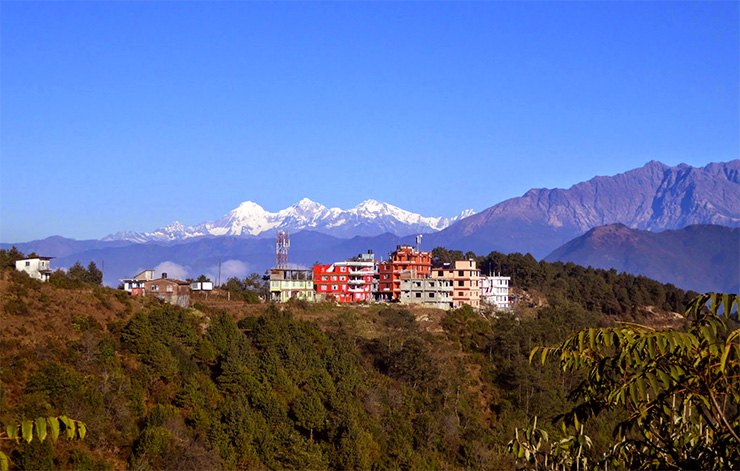 Chisapani- Nagarkot Trek ,  Enjoy the beauty of the mountains