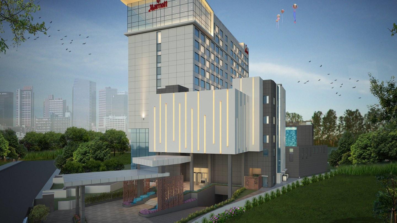 नागपोखरीमा अवस्थित सुबिधासम्पन्न पाँचतारे होटल मेरियट