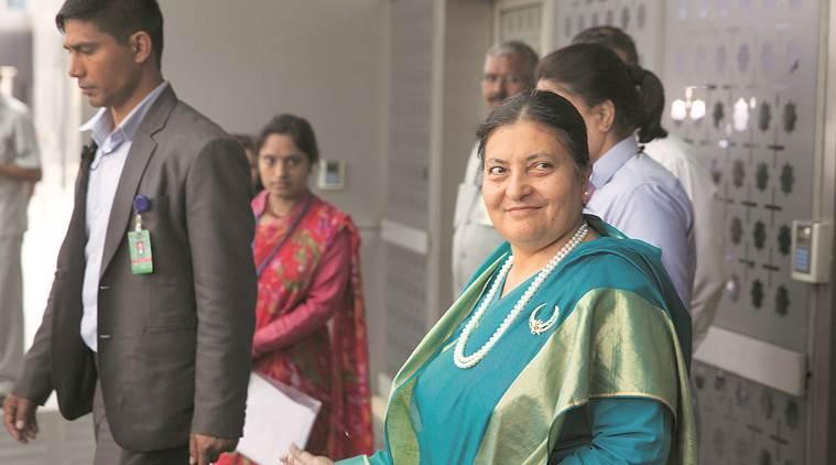 राष्ट्रपति भण्डारीद्वारा नेपाली प्याभिलियनको उद्घाटन