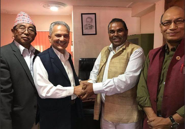 उपेन्द्र र बाबुरामको पार्टीबीच एकता , जन्मियो  'समाजवादी पार्टी नेपाल'