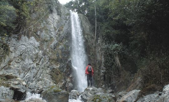Simba Waterfall Tour with Himalayan Adventure
