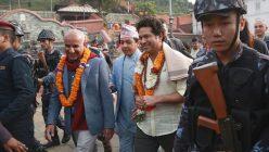 भारतका चर्चित क्रिकेटर सचिन तेन्दुलकरले गरे पशुपतिनाथको दर्शन