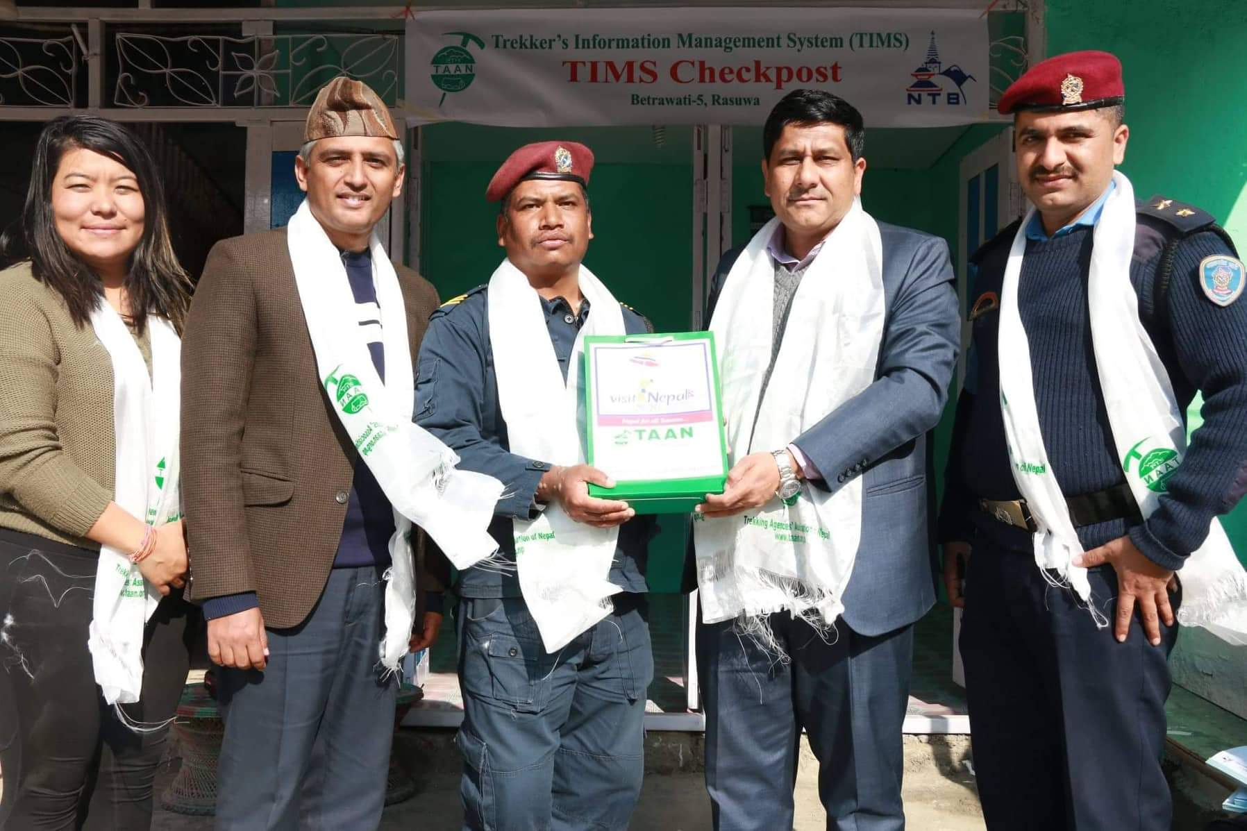 टानले रसुवाको बेत्रावतीमा टिम्स चेकपोष्टको गर्यो स्थापना