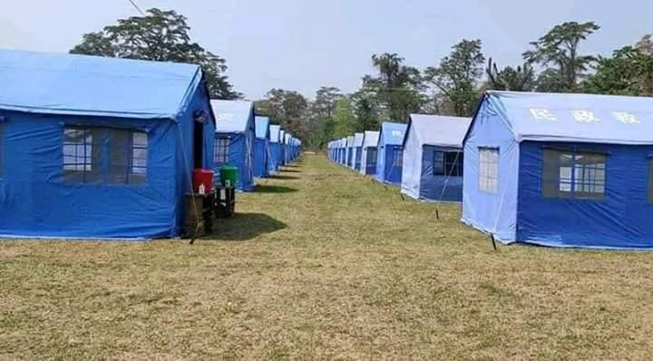 प्रदेश १ सरकार र नेपाल आर्मीले तयार पारे क्वारेन्टाइन