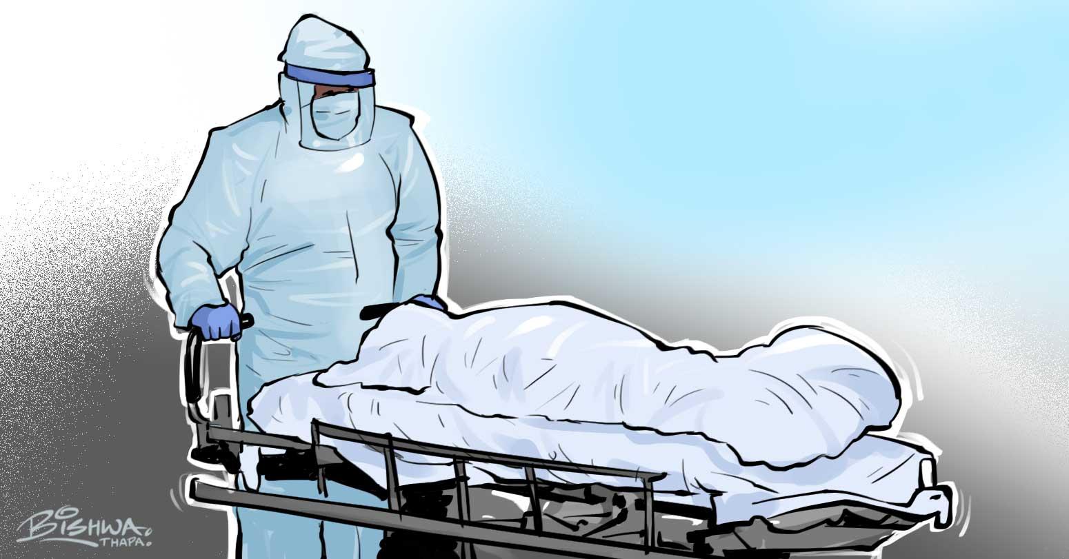 कोरोनाभाइरस संक्रमणबाट थप ५ जनाको मृत्यु