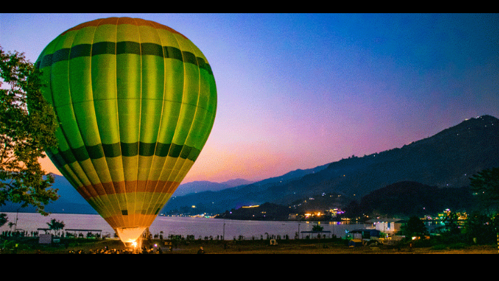Nepal Air Sports: Hot Air Balloon Flight Tourism Kicks Off in Pokhara!