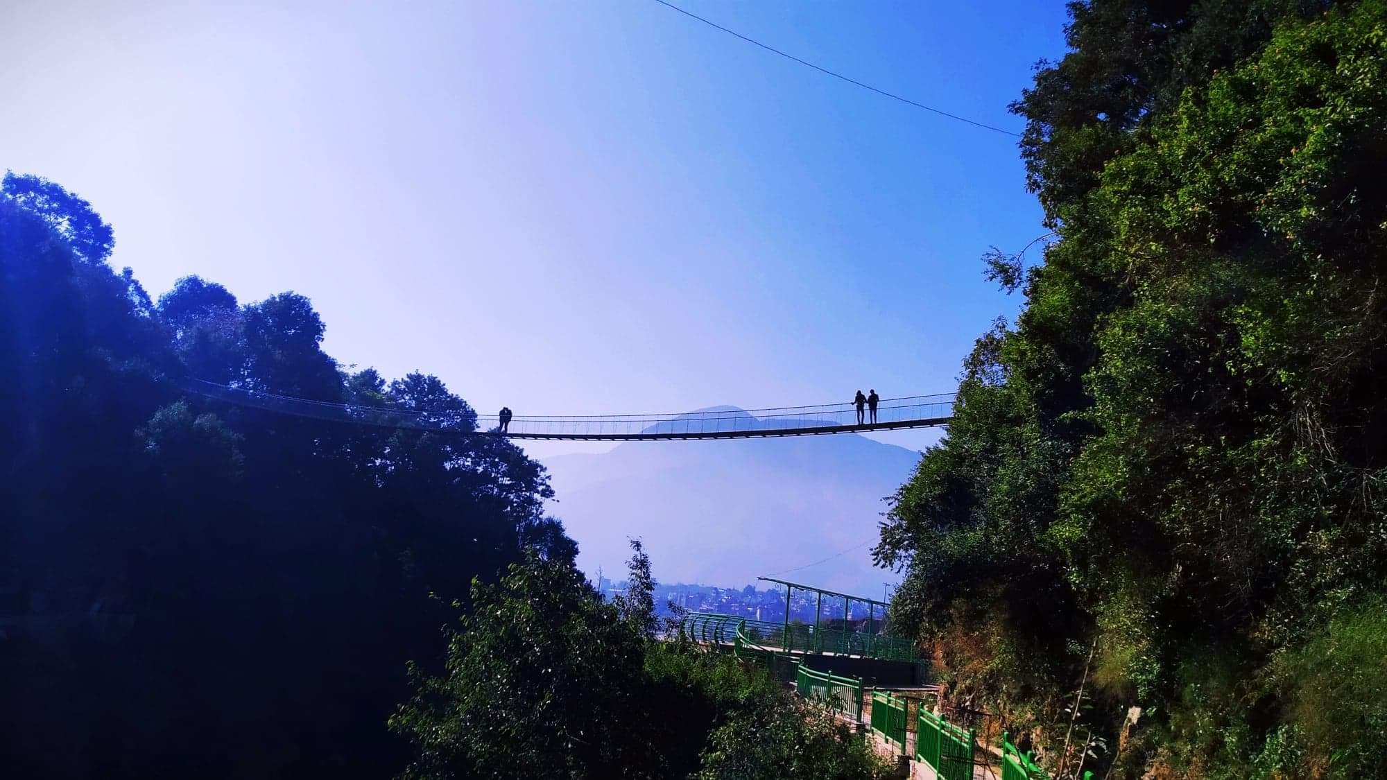 """काठमाडौं को भर्जिन पार्क """" भिराडिल खाइके साकुरा पार्क"""""""
