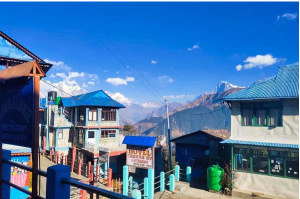 Hotels at Ghodepani, Pun Hill reopen