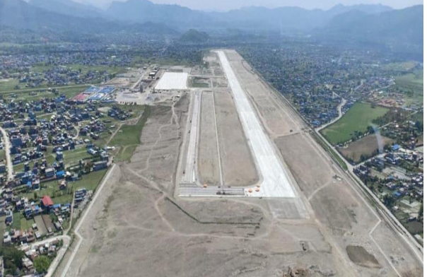 Rithepani hill to cut down for Pokhara International Airport