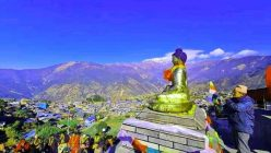 Buddha Park constructed at Barpak