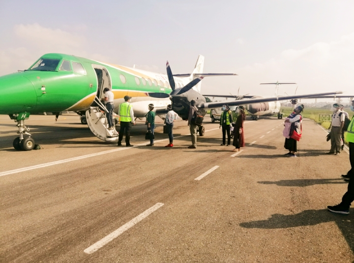 Yeti Airlines brings dream of seeing the mighty Himalayn giants come true through Mountain flights (Photo Feature)