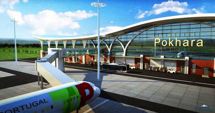 Under-construction Pokhara regional airport makes 68 percent progress