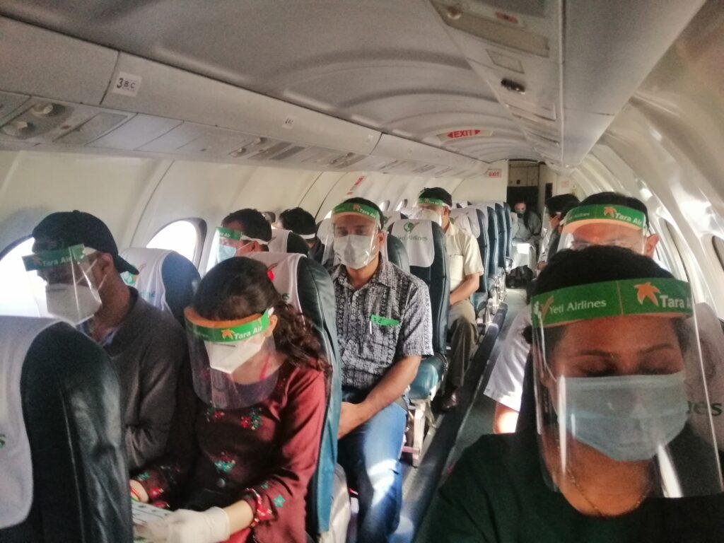 कोरोना संक्रमितको संख्या पुनः बढेसँगै एयरलाइन्स कम्पनीले बढाए  सतर्कता