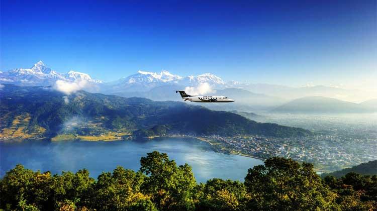 पाँच दिन देखि पोखरा काठमाडौँ  हवाई सम्पर्क अवरुद्ध