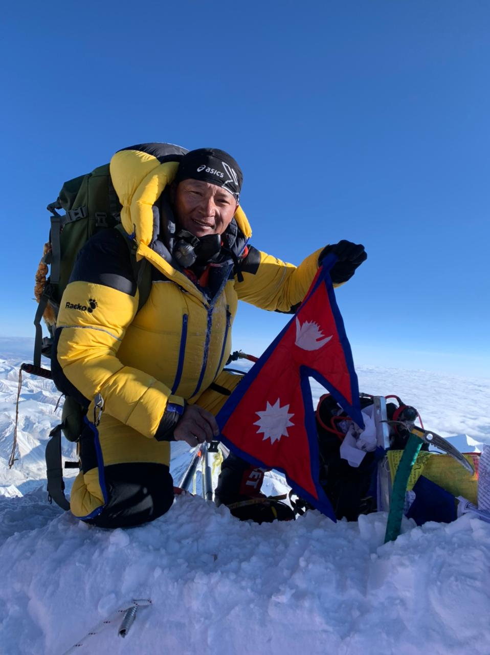 Covid couldn't stop me to climb mount Everest – climber Sherpa