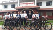 Cycle rally for tourism promotion
