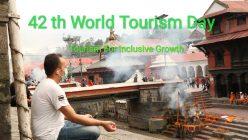 आज ४२ औँ विश्व पर्यटन दिवस, विभिन्न कार्यक्रम गरी मनाईंदै