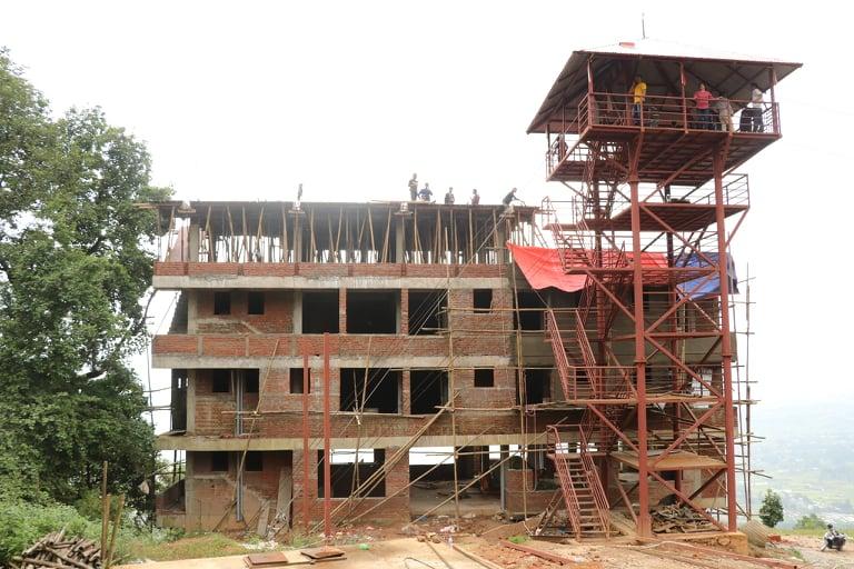 एसियाकै दोस्रो लामो सुपरम्यानको निर्माण अन्तिम चरणमा