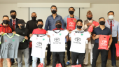 Cooperation between Toyota and Shivpuri Club: Jersey's and Sportswear handover to the club players